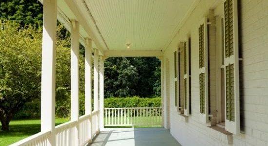 veranda amerikansk